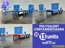 container chassis semi trailer Renders Container Transport