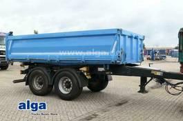 drop side full trailer Meiller MZDA 18/22, Tandem, Luftfederung, BPW-Achsen 2013