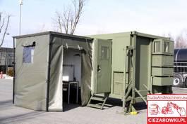 Büro- und Wohncontainer ARMPOL / Military container body / UNUSED 2020