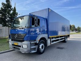 box truck Mercedes-Benz 1824 L Axor only 297.000 km !!! 2008