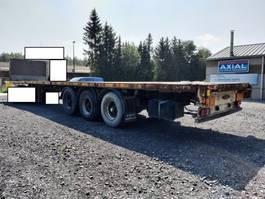 flatbed semi trailer LAG 3 axles bpw-disc brakes-lift axle-good tyres