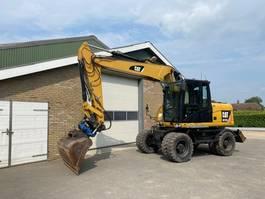 wheeled excavator Caterpillar M313D 2011