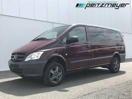 minivan - passenger coach car Mercedes-Benz 08.2023 116 CDI Allrad 4x4 Mixto 5 Sitzer, Klima, AHK 2,5 t. 2012