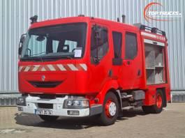 fire truck Renault 180.10 Doppelcabine - 1.500 ltr watertank - Feuerwehr, Fire brigade 2001