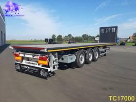 flatbed semi trailer KAESSBOHRER SPB TIMBER Flatbed
