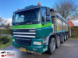 tipper truck Ginaf X 5250 TS X 5250 TS 10x4 kipper manual gearbox 2006