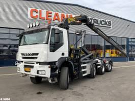 container truck Iveco AD190T41W Palfinger 22 ton/meter laadkraan 2011