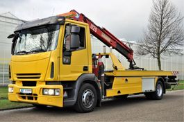 tow-recovery truck Iveco EuroCargo 120 ML120E25/P 2009