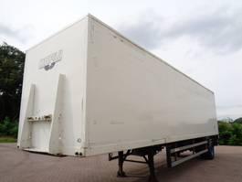 closed box semi trailer Groenewegen DRO 10 10 B 1998