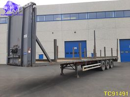 flatbed semi trailer Pacton Flatbed 2004