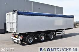 tipper semi trailer Bulthuis TI 30 AL1 | 57 M³ KIPPER * ALU * 2 x STUURAS * APK 07-2022 1995