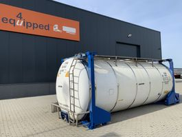 Tankcontainer 31.070L, steam heating, UN PORTABLE, T11, 5y insp. : 07-23 1997