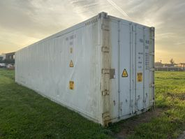 reefer-refrigerated shipping container 40FT Refrigerated Container / Carrier 2001