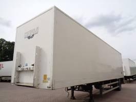 closed box semi trailer Groenewegen DRO-12-10 B 2007