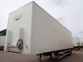 closed box semi trailer Groenewegen DRO-10-10 2001