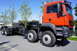 chassis cab truck MAN TGS 41 8x6 BB / EURO 5 / FACTORY NEW 2021