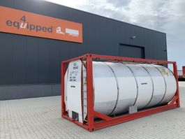 tank container Van Hool 25.000L, 20FT, IMO-1, T7, L4BN, valid 5y/CSC: 01/2024 1999