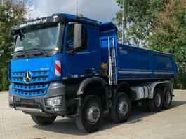 tipper truck Mercedes-Benz Arocs 4142 8x8 BB EURO6 Dreiseitenkipper 2017