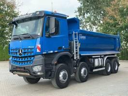 tipper truck Mercedes-Benz Arocs 4142 8x8 BB EURO6 Muldenkipper TOP 2017