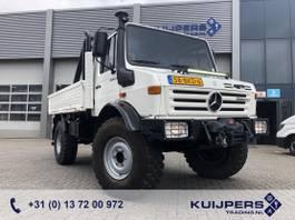 platform truck Unimog U1300 L Mercedes / 4x4 / 33 dkm / Warn Winch 5443 kg / Top Condition !! 1987