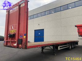 flatbed semi trailer Pacton Flatbed 2005