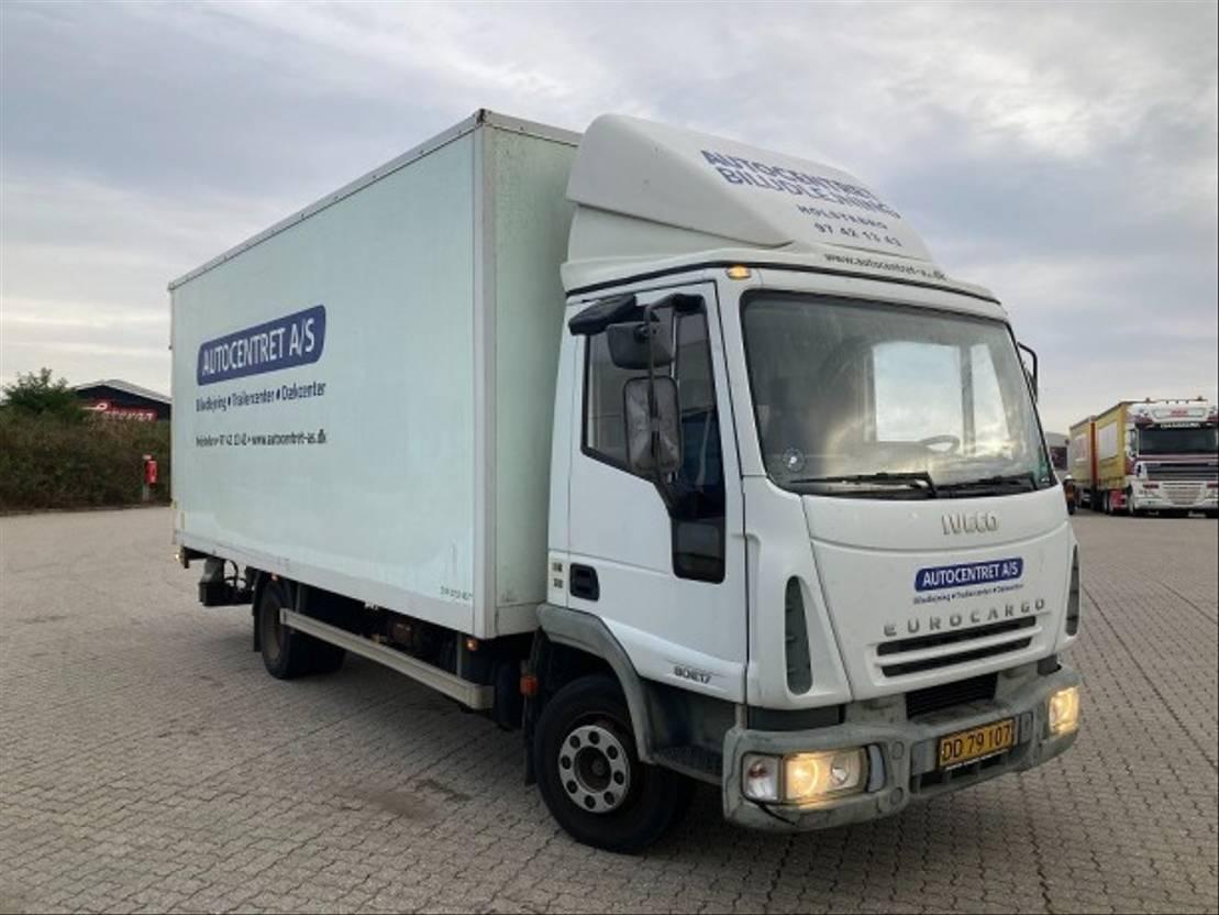 box truck Iveco MiljøZone  Godkendt  80E17 EuroCargo 2004