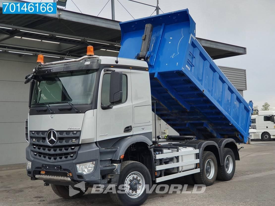 tipper truck Mercedes-Benz Arocs 3345 6X6 Combi-Tipper Big-Axle Hydraulik Steel Suspension 2016