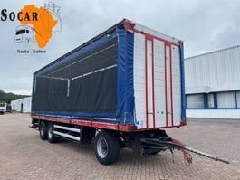 turntable full trailer Jumbo TV280 C / kooiaap / 9.50 meter laadvloer !!!! 1992
