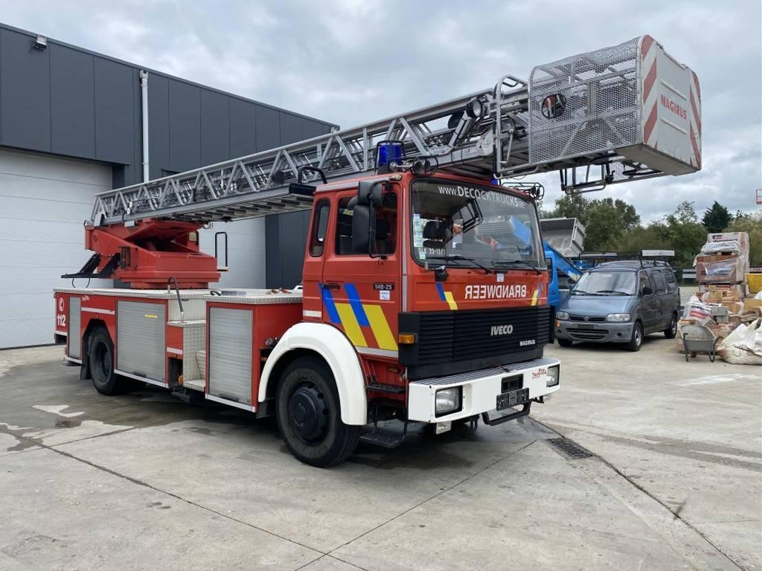 fire truck Iveco MAGIRUS 30M LADDERWAGEN 55.000KM!!!