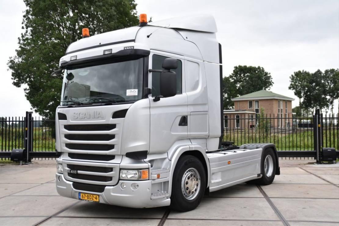 cab over engine Scania R410 HL 4x2 - EURO 6 - 651 TKM - ADRL FL - PTO - GOOD CONDITION - 2014