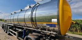 tank semi trailer semi trailer KAESSBOHRER Chemieauflieger STC 34m³ 2018