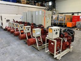 generator Iveco 8031 AvK 30 kVA generatorset as New ! 2005