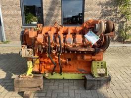 industrial engine MTU 12V 2000 R1238K33 12 cilinder 760 PK diesel engine 2005