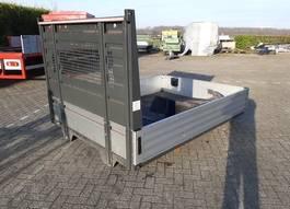 Offene Box Kleintransporterteil Open Auto Laadbak Afm: 275 x 210 cm - Compleet met spatborden. 2015