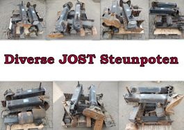 Other truck part JOST Steunpoten JOST Steunpoten Diverse.