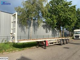 flatbed semi trailer Samro Gasflessen 2004