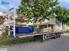 flatbed semi trailer Samro Gasflessen 2009
