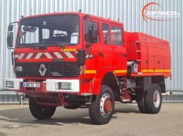 fire truck Renault M 210 4x4 -Feuerwehr, Fire brigade - 3.500 ltr watertank - Expeditie, Ca... 1997