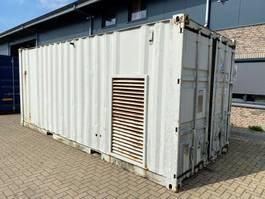 generator Cummins NTTA 855 G2 400 kVA Silent generatorset in 20 ft container 1997