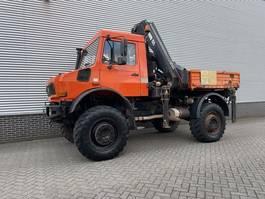 crane truck Unimog U2450 Unimog U2450L HAIB kraan 15,5 ton