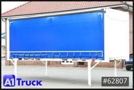 curtain slider swap body container Krone 7,45 BDF, CODE XL, neue Plane, stapelbar, Staplertaschen 2013