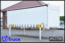 curtain slider swap body container Krone 7,45 BDF, CODE XL, stapelbar, Staplertaschen 2013