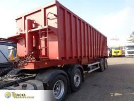tipper semi trailer LAG 0-2-32 KHS + 2 axle + kipper + 43 CUB 1991