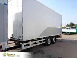 Kofferanhänger Hertoghs + 2 axle + throughloader + Omega floor 2012
