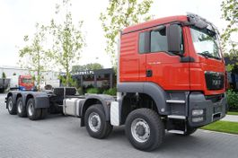 chassis cab truck MAN 50.480 10 × 8-8 BB / EURO 5 / FACTORY NEW 2021