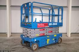 scissor lift wheeld Genie GS-2646 2007