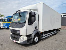 box truck Volvo FL210 4x2 Euro6 - Junge Bak 7.22m - Laadklep 1500kg - Vangmuilkoppeling ... 2014