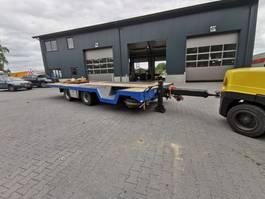 flatbed full trailer Tracon TRUCKTRANSPORTER MET AANSCHUINING COMPLEET RESTAURATIE 2004