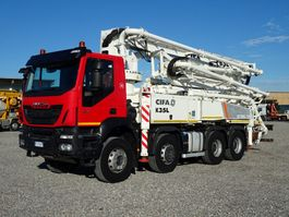 concrete pump truck Iveco Trakker 410 EUROTRAKKER  410T45