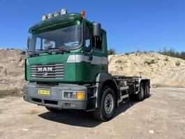 container truck MAN F2000 - Full steel - Big Axles   Containerhook F2000 Full steel - Big Axles   Containerhook 2001